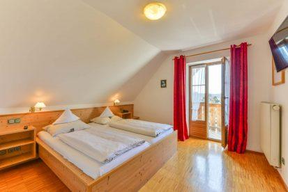 Schlafraum Appartement